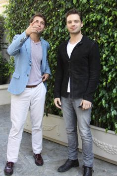 James Wolk and Sebastian Stan