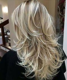 54 Super Ideas For Hairstyles Long Thin Hair Pictures - Hair Styles Short Thin Hair, Long Hair Cuts, Short Cuts, Hair Styles 2016, Curly Hair Styles, Hair Styles Long Layers, Thin Hair Layers, Long Layered Haircuts, Medium Layered Haircuts
