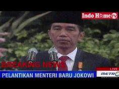 Pelantikan Kabinet Kerja Jokowi JK Hasil Reshuffle Jilid 2 - 27 Juli 2016 - YouTube