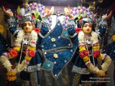 Sri Sri Gaura Nitai Close up Wallpaper