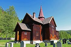 Rollag Stave Church - Wikipedia, the free encyclopedia