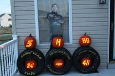 Congratulations to Robert Sine for being this week's winner in our Pumpkin Decorating Contest. He won a special Hendrick Motorsports NASCAR Cup win poster and a Jeff Gordon t-shirt.