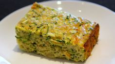 Recipe Zucchini Slice by learn to make this recipe easily in your kitchen machine and discover other Thermomix recipes in Baking - savoury. Vegetarian Zucchini Slice, Easy Zucchini Slice, Healthy Zucchini, Vegetarian Recipes, Cooking Recipes, Recipe Zucchini, Zuccini Slice, Vegetarian Options, Vegetable Recipes