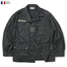 【楽天市場】実物 新品 フランス軍 F-1ジャケット BLACK染め:ミリタリーショップWAIPER