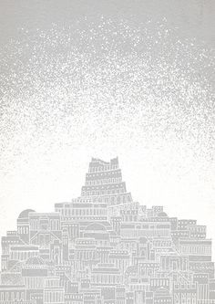 """""""Celestial Cities"""" is a limited set of cities illustrations made by David Fleck. The nine illustrations are created from engraved wood blocks, printed on paper painted in different colors inspired by our solar system's planets. A series presented by Kickstarter  http://www.fubiz.net/2014/11/23/celestial-cities-by-david-fleck/"""