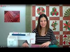 ¡¡Aprende a acolchar con Alfonsina!! - YouTube … Free Motion Quilting, Quilt Blocks, Ideas Para, Patches, Singer, Quilts, Sewing, Crochet, Fabric