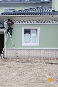 Орнаментальная роспись фасада. http://rospissten.moscow/