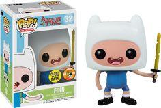 Adventure Time - Finn Glow in the Dark Pop! Vinyl Figure (SDCC 2013)