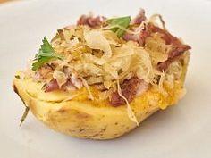 Baked Potato, Potatoes, Baking, Ethnic Recipes, Food, Meal, Patisserie, Potato, Backen