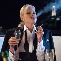 Ab Fab The Movie  May 19 Cat's out of the bag sweetie, the name's Stone. Ab Fab Movie, Jessica Lange Ahs, Patsy And Edina, Next Bond, Patsy Stone, Joanna Lumley, Actress Jessica, Tilda Swinton, British Comedy