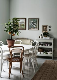 Bentwood chairs are a fantastic choice for your dining room. See our favorite options for shopping this classic Thonet chair. Dining Room Inspiration, Home Decor Inspiration, Decor Ideas, Style Inspiration, Home Design, Interior Design, Design Web, Design Ideas, Graphic Design