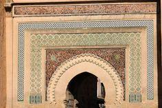 Bab Mansour in Meknès, Marokko