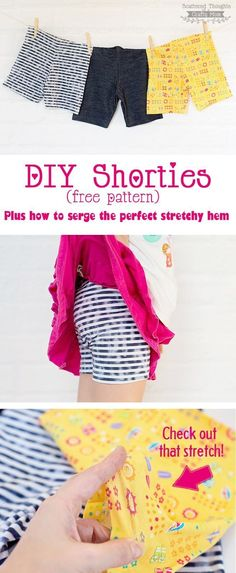 Free Shortie Pattern and tutorial