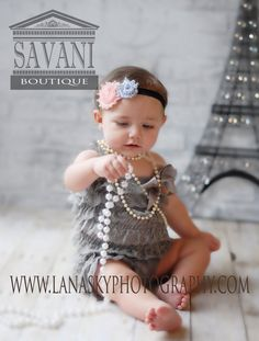 Baby Romper Birthday outfit baby girls romper by SAVANIboutique, $15.99