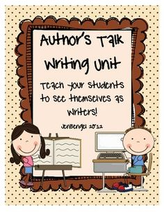 {freebie} this two week writing unit is so fun to teach!  Start your writing workshop off right by encouraging your young students to value their work and see themselves as real writers!