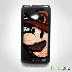 Super Mario Bross Picture AR for HTC M7/M8/M9 phonecases