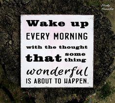 Tabuľka Wake up