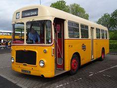 Leyland engined Bristol RE Bus Coach, Classic Motors, Sunderland, Coaches, Newcastle, Bristol, Trains, Transportation, Motorcycles