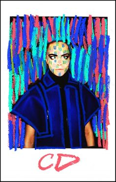 Art Crush: Austyn Weiner x Cara Delevingne - Art Crush
