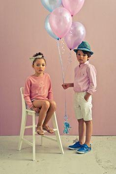 FASHION: Pastel children's fashion spring summer 2014 Junior
