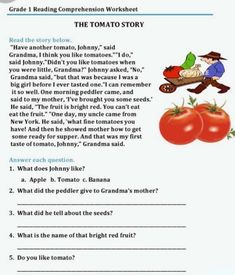 Reading Comprehension Worksheets, First Grade Reading, English Idioms, English Class, Writing Practice, Reading Skills, Esl, English Language, Learning