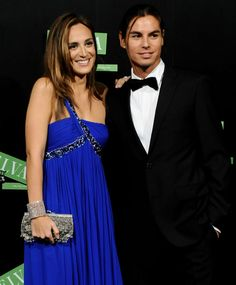 Tamara Falco with Julio Iglesias Jr at 2009 TELVA Fashion Awards