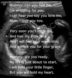 Love this verse on ultrasound picture