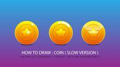 Game item/coin design tutorial adobe illustrator Coin Design, Adobe Illustrator Tutorials, Game Item, Design Tutorials, Coins, Make It Yourself, Drawings, Illustration, Sketches