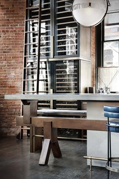A rotating selection of guest chefs take up residence at the most open of open kitchens in NYC... http://www.we-heart.com/2015/02/13/chefs-club-new-york/