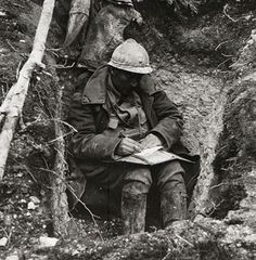 A soldier at Verdun writes a letter home.