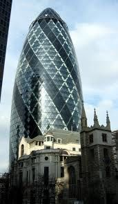 St. Mary Axe, Londen (The Gherkin) - Architect Norman Foster
