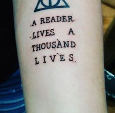 'A reader lives a thousand lives' via Sarah Frannie