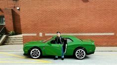 2015 Dodge Challenger SRT  HEMI Purple *** Hot Wheels Retro Import 1:64