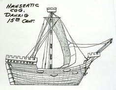 Byzantium Novum Militarium: Hanseatic Cog, Danzig, 15th century
