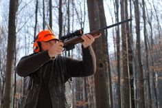 Aiming - from the filming of Wild Boar Fever 5