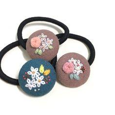 10개나 만들었음 . . . #꽃보다자수 #토요일 #춘천 #공지천 #라온마켓에서 만나요! #embroidery #프랑스자수
