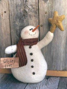 Gramma Scuffy's - Craft Patterns More Felt Snowman, Snowman Crafts, Christmas Projects, Felt Crafts, Holiday Crafts, Snowman Wreath, Wood Crafts, Christmas Sewing, Primitive Christmas