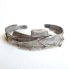 Abstract Slab Cuff, $609, now featured on Fab.