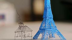 3D Printing Pen Lets You Draw Sculptures in Midair