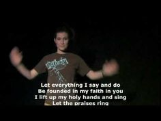 Let the Praises Ring - use some of the motions
