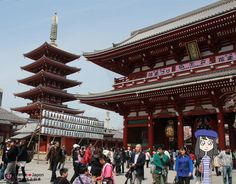 Visite du temple Senso-ji à Asakusa (Tokyo)
