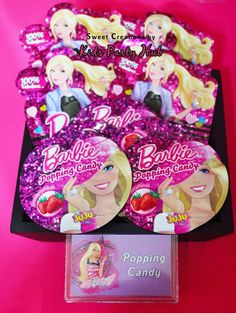 Barbie Candies and Sweets