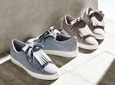 These suede sneakers will take your off-duty looks from leisurely to luxe. #StyleTip