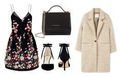 """♡"" by iojikxamiak ❤ liked on Polyvore featuring The 2nd Skin Co., Nine West and Givenchy"