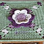 Through the Tulips FREE Granny Square Pattern