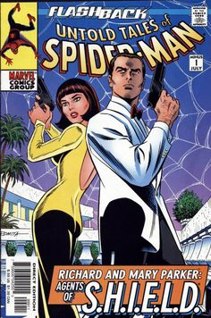 the cover to Untold Tales of Spider-Man #-1 by John Romita sr