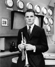 "postmanultrachic: ""chet baker Today show studios, New York City, . Photo by Carole Reiff "" Jazz Trumpet, A Love Supreme, Chet Baker, Legendary Pictures, Musician Photography, Classic Jazz, Idole, Jazz Musicians, Jazz Blues"
