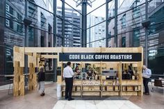 Code Black, Melbourne International Coffee Expo (Melbourne, Australia), Pop-Up | Restaurant & Bar Design Awards