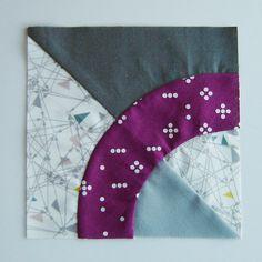 Mango Quilt Block 1 by Marci Girl Designs, via Flickr