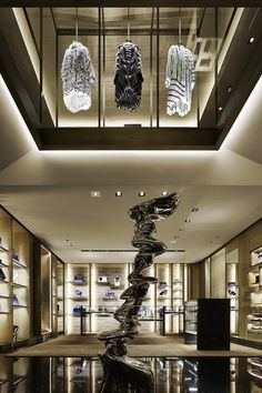 FENDI Avenue Montaigne, Paris | WORKS - CURIOSITY - キュリオシティ -
